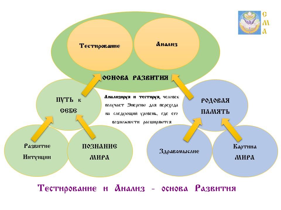 Тестирование  и  Анализ - Основа  Развития